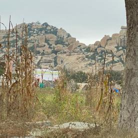 This is the hill to Trek for temple on the top!!